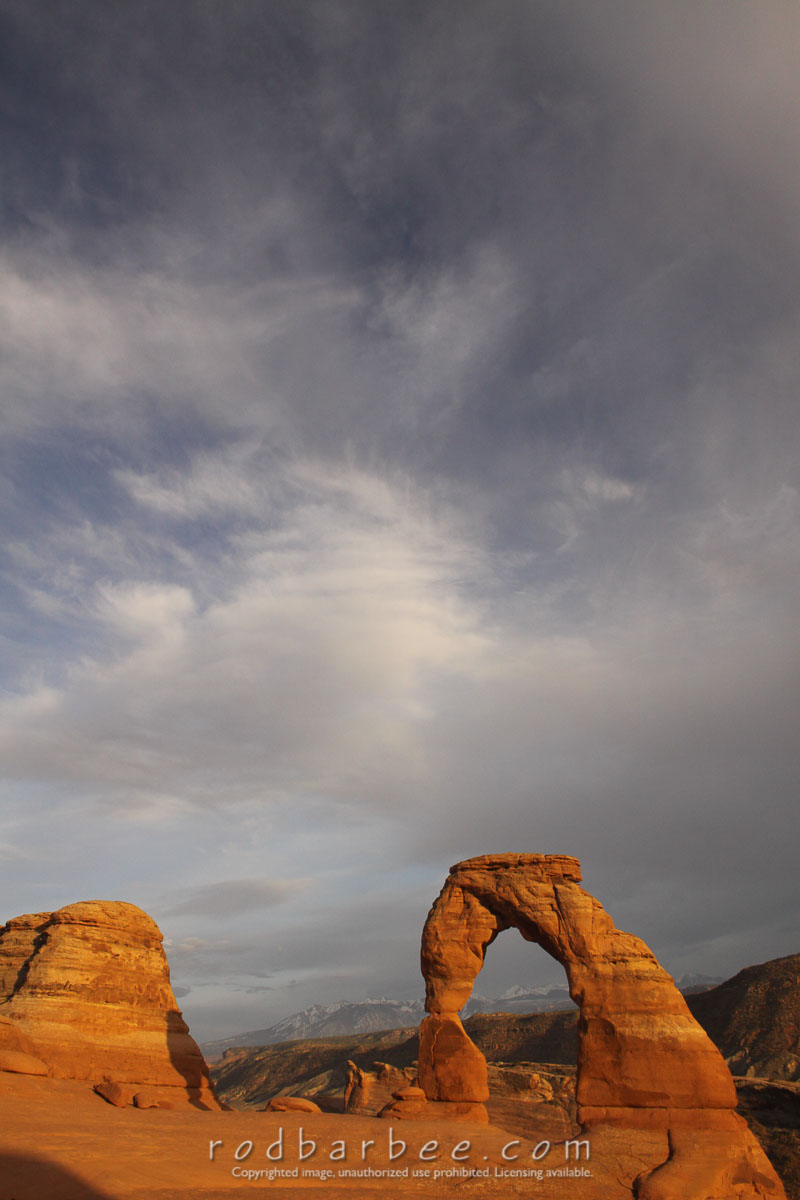 Barbee_100419_50D_2313 |  Delicate Arch, near sunset