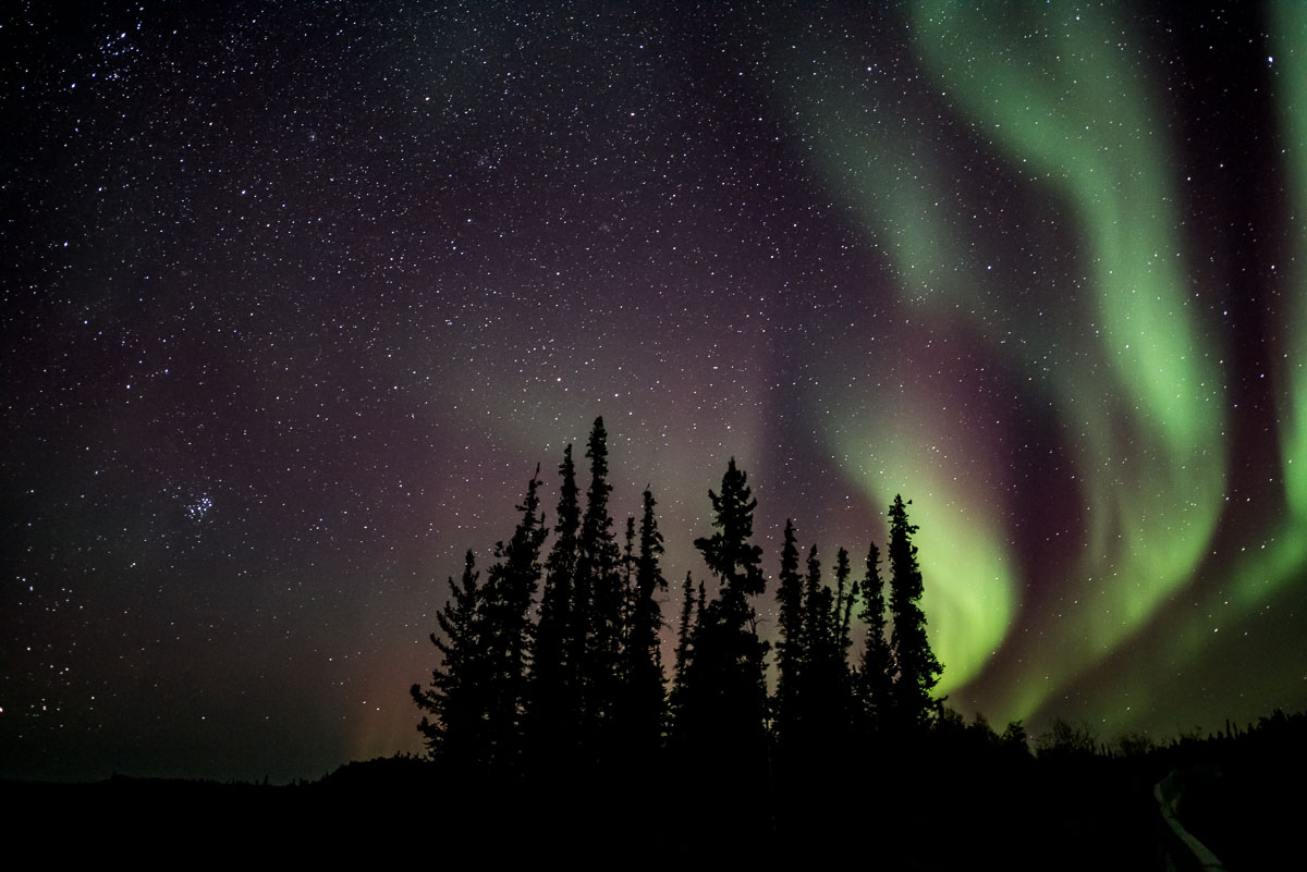 Barbee_140925_0935 |  Auroras along the Ingraham Trail