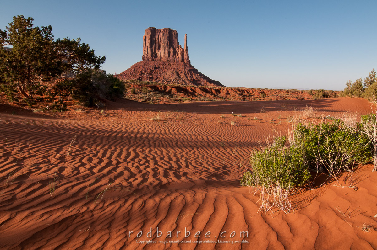 Barbee_120427_3_5396 |  Late afternoon in Monument Valley