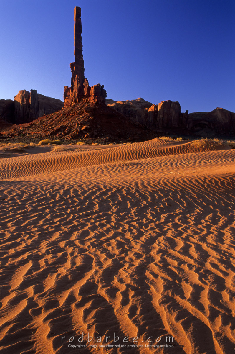 Barbee_totempole1 |  The Totem Pole, Monument Valley, UT